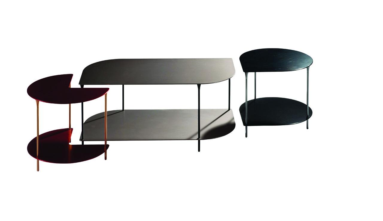 Table aluminium roche bobois c b lefebvre for Roche et bobois table basse
