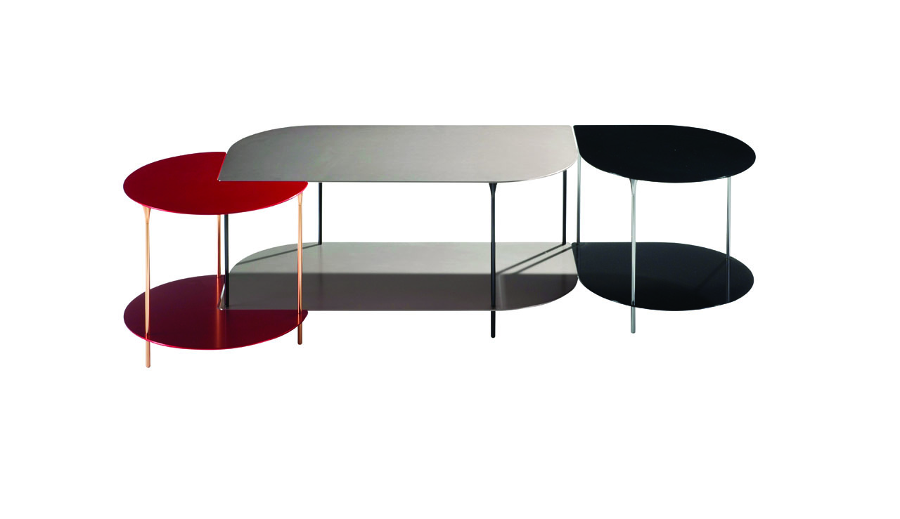 Roche bobois tables basses table basse daisy collection - Table en verre roche bobois ...