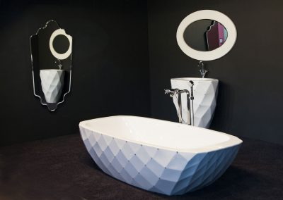 baignoire design solid surface
