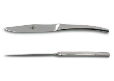 couteau monobloc inox