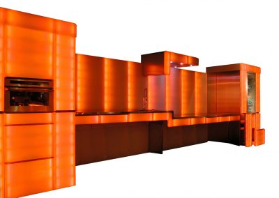 cuisine design orange