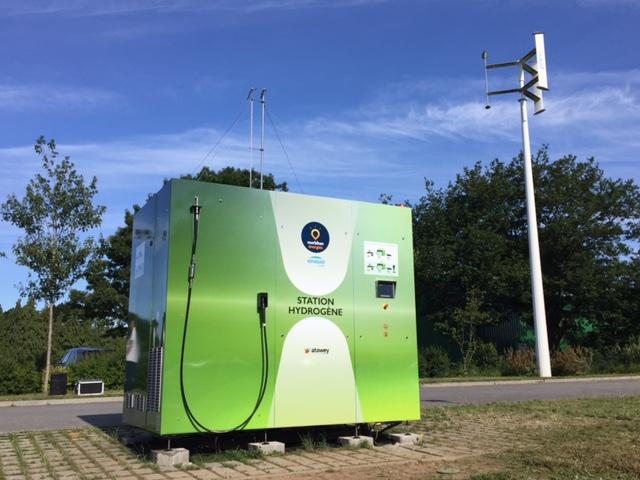 Une première station hydrogène Atawey installée en Bretagne