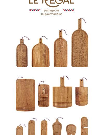 Le Regal design planche bois écologie