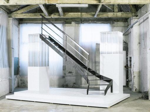Escalier acier – Rondcarré