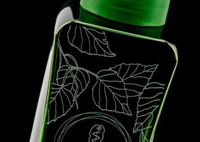 Weleda bouteille design nature éco-conception