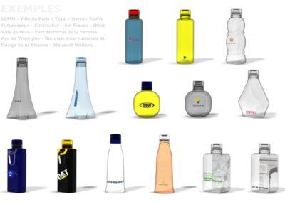 Bouteille design éco-conception