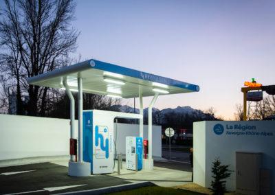 Station Hydrogène, Design, Expérience, Développement durable, innovation